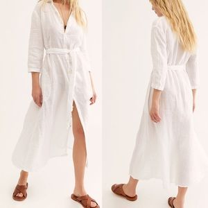 Free People CP Shades Michelle Shirt Dress NWOT
